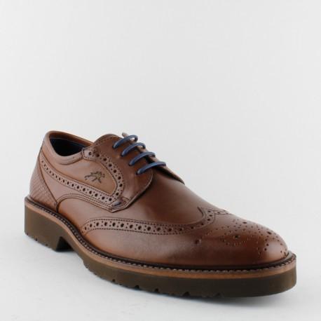 Con 9522 Fluchos De Cordones Zapatos Piel Hombre qFxRgw7x1